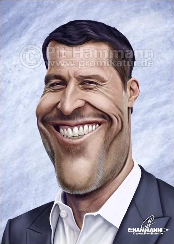 Anthony Robbins Karikatur