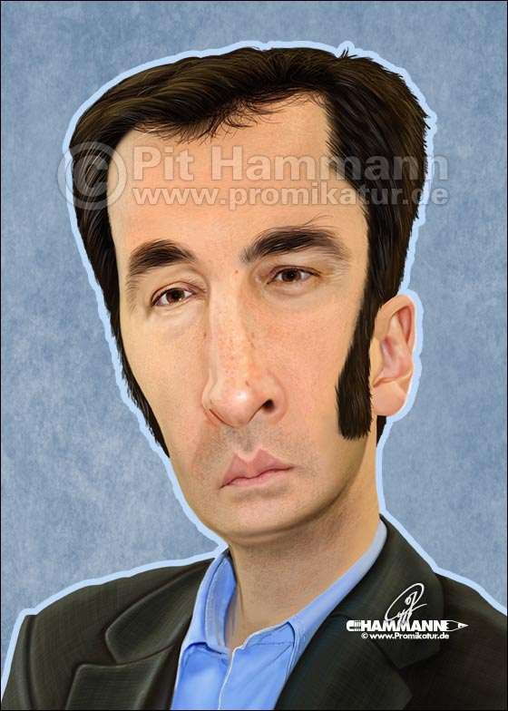 Cem Özdemir Karikatur | digitale Illustration
