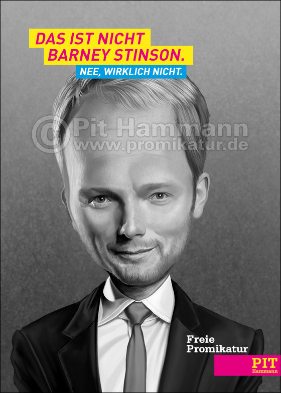 Christian Lindner Karikatur | digitale Illustration