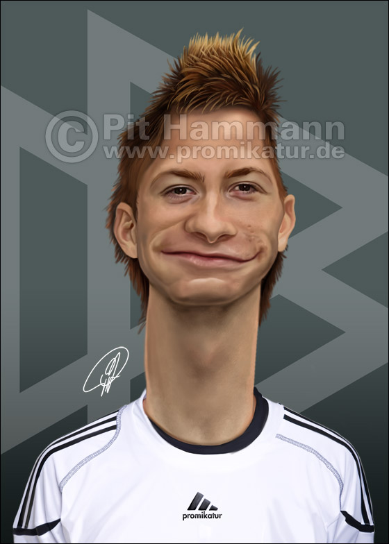 Marco Reus Karikatur caricature caricatura | digitale Illustration