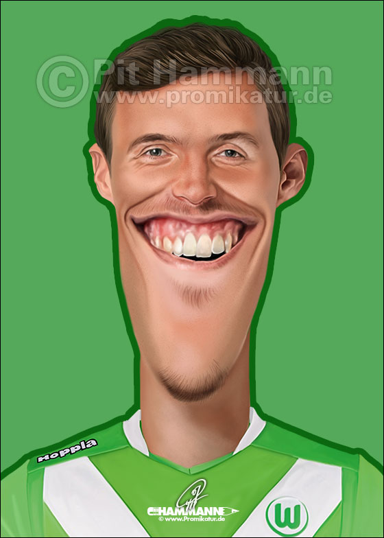 Max Kruse Karikatur | digitale Illustration