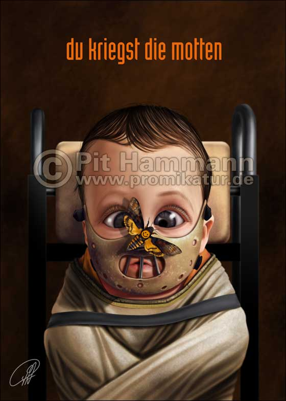 Baby Hannibal Lecter | digitale Illustration